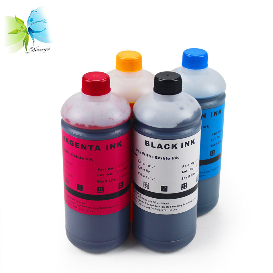 2018 High Quality Edible Ink For Canon Pixma ts5020 ts6020 Printer For Baking