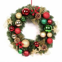 OEM design Customized Christmas wreath for Christmas decoration