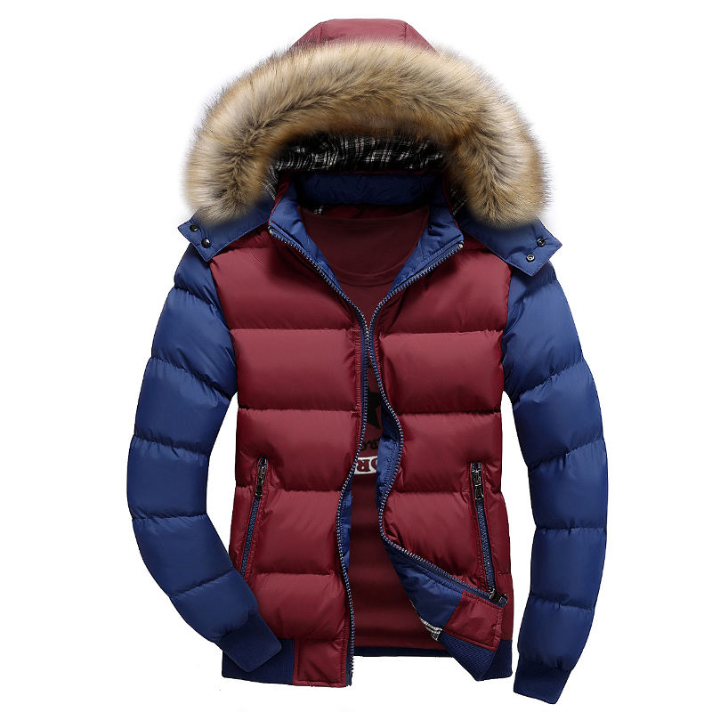china factory 2018 Cheap Varsity Motorcycle Xxxl Woodland Men fake down Winter Jacket Man Wholesale