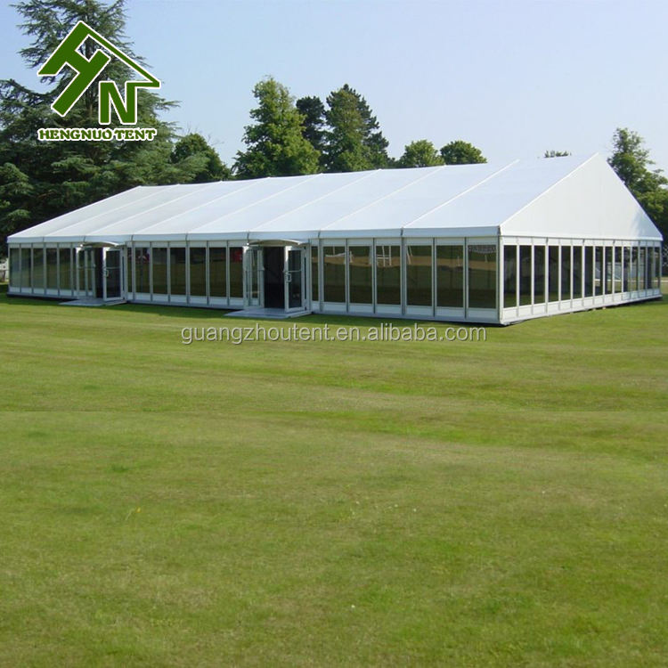 40x60 Luxury Glass Wall Marquee Wedding Ceremony Giant Party Tent For Sale