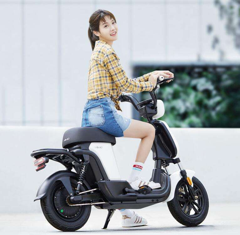 New Design HIMO T1 14 Inch 48V350W 14Ah/28Ah Lithium Battery 60-120km Max Speed 25km/h Electric Bicycle Bike Motorcycle