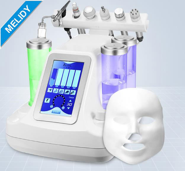 Beauty Face Equipment Ultrasonic Hydro Facial Machine / 7 in 1 Hydro Facial Machine