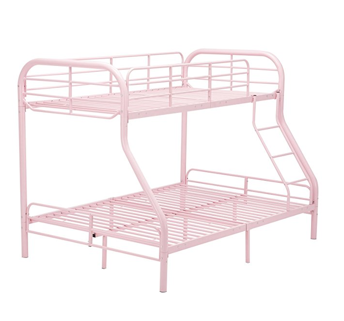 Top-selling antique wrought iron bunk bed
