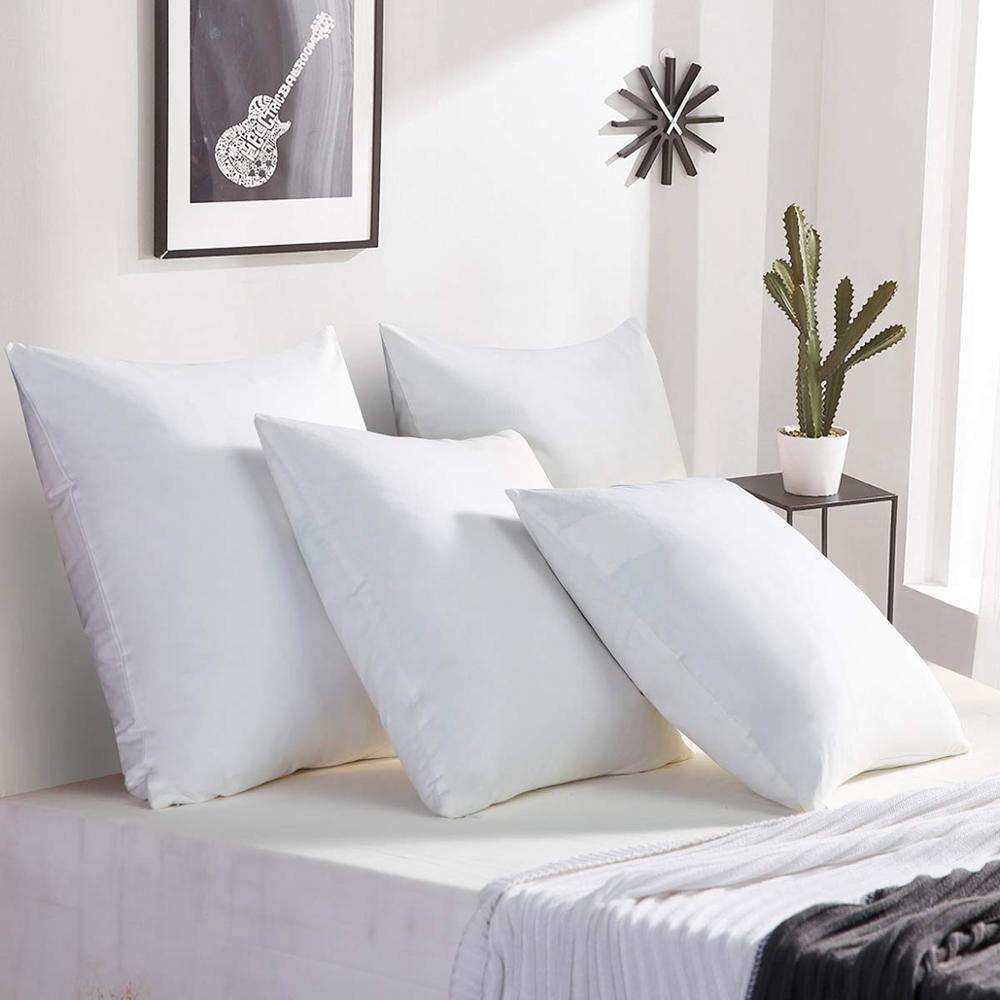 Graphic Customization [ Star Cushion ] The Pillow Wholesale 5 Star Hotel 100% Duck Feather Pillow Cushion Inserts