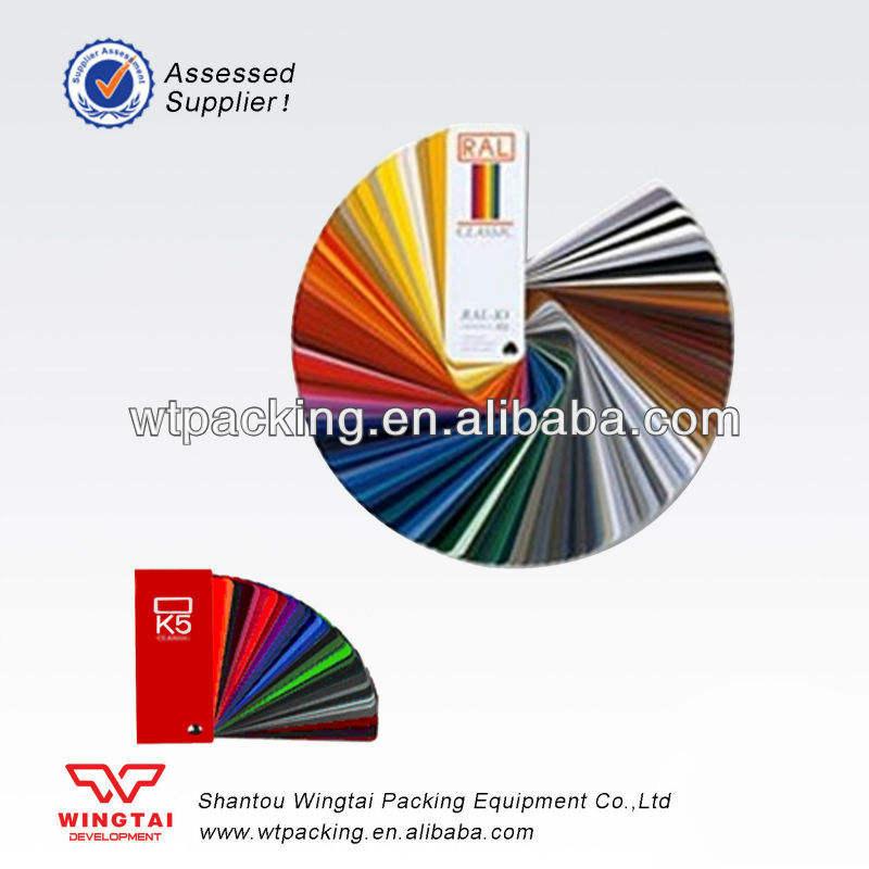 Германия Pantone Цветовая шкала ral k5