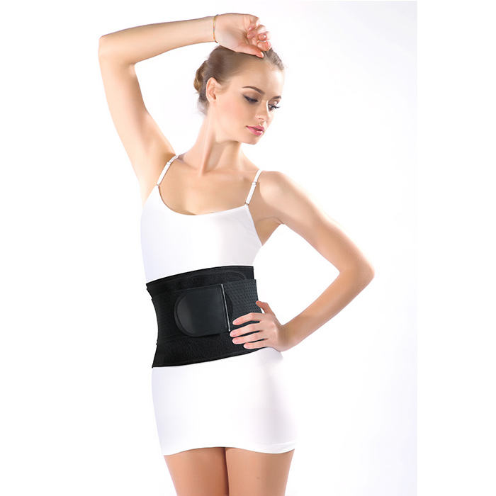 Neoprene Body Compression Bamboo Shaper With Adjustable Straps