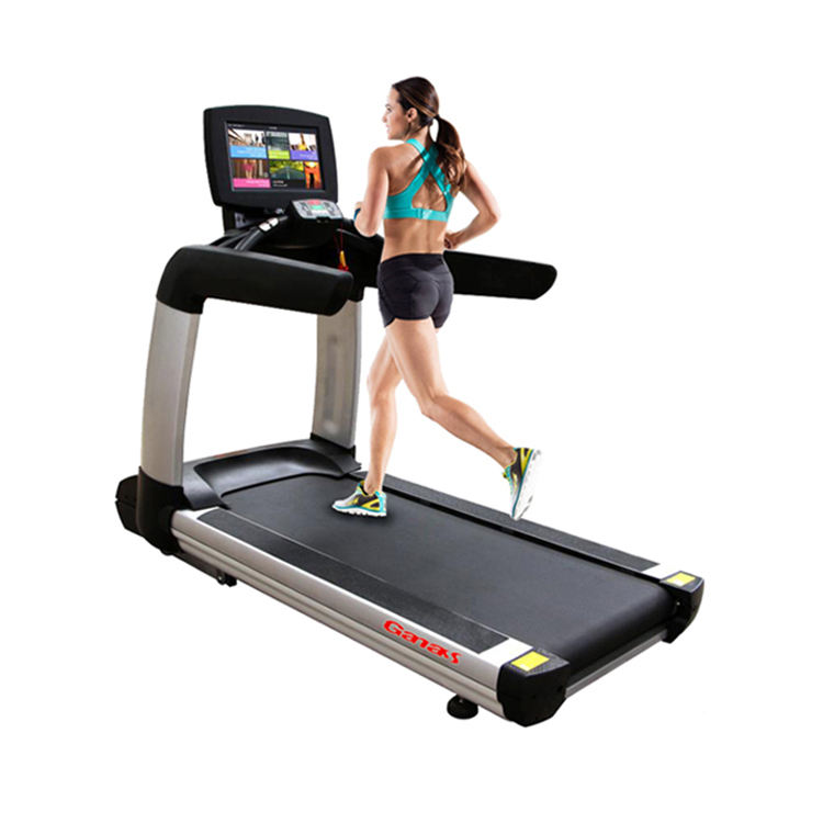 Commercial Treadmill gym fitness equipment/running machine/motorized treadmill for touch screen