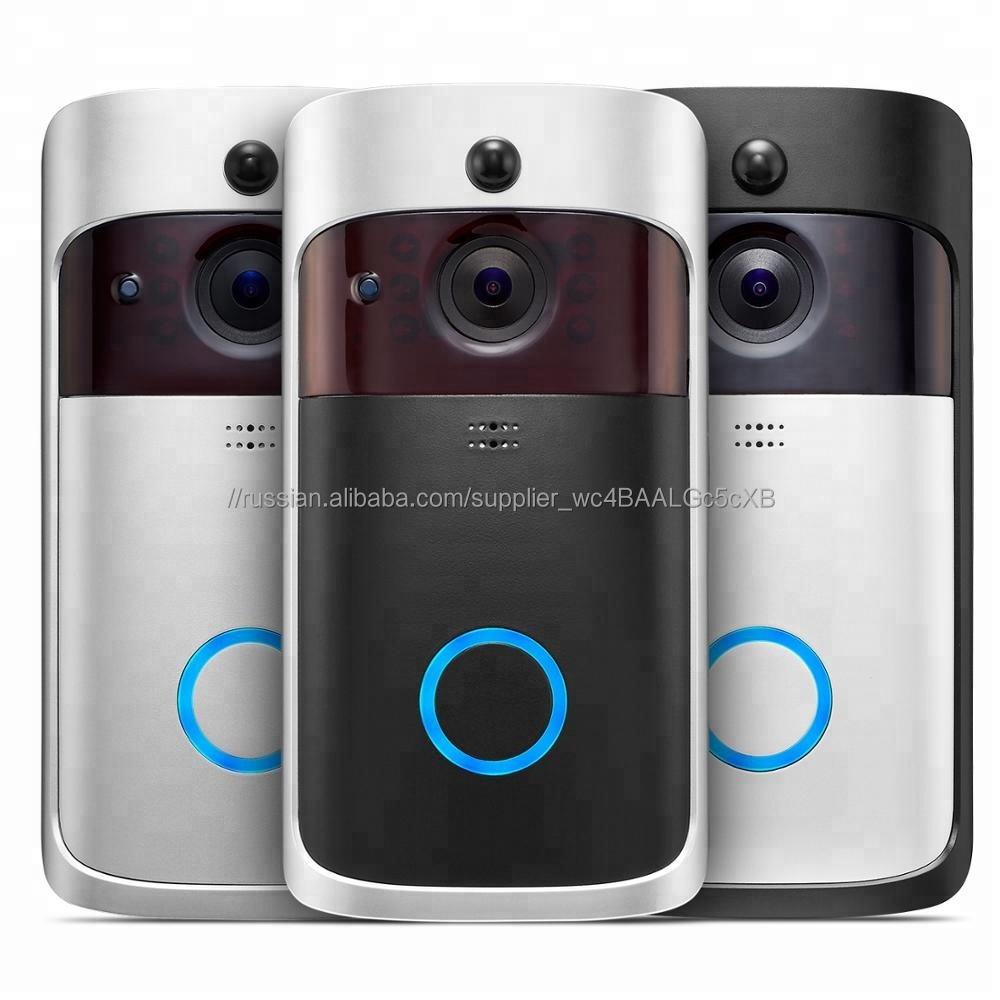 2019 последние Смарт IP Видео WI-FI Видео-Телефон Двери Дверной Звонок WI-FI Дверной Звонок Камера Для Сигнализации Беспроводной