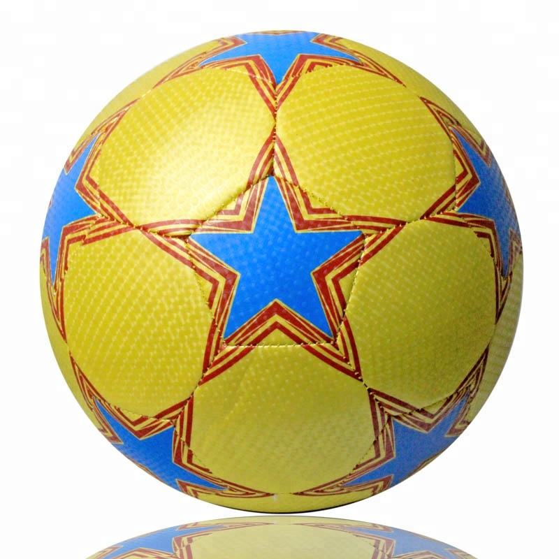 customize your own logo football soccer ball with full size and color for outdoor sports