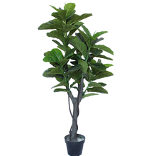 Artificial plant plastic fiddle leaf fig tree 5614
