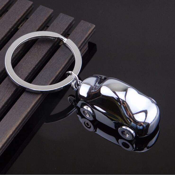 Custom handmade metal alloy luxurious car style car shaped keychain car