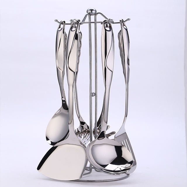 Stainless Steel Kitchenware Set Utensil Sets Cooking 7piece Kitchenware