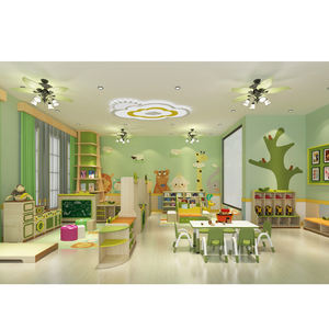 Komersial Anak-anak TK Set Furniture Murah Tempat Penitipan Anak Furniture
