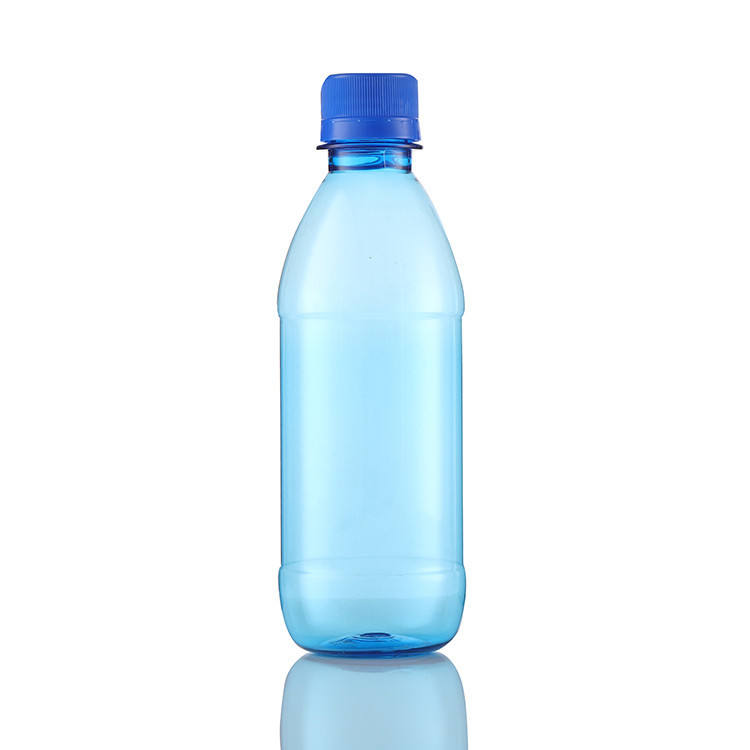 Packaging Cylinder 300Ml Pet Plastic Drinking Water Bottle With Screw Cap