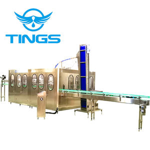 bottle filling machine rinser, filler, capper three-in-one machinery