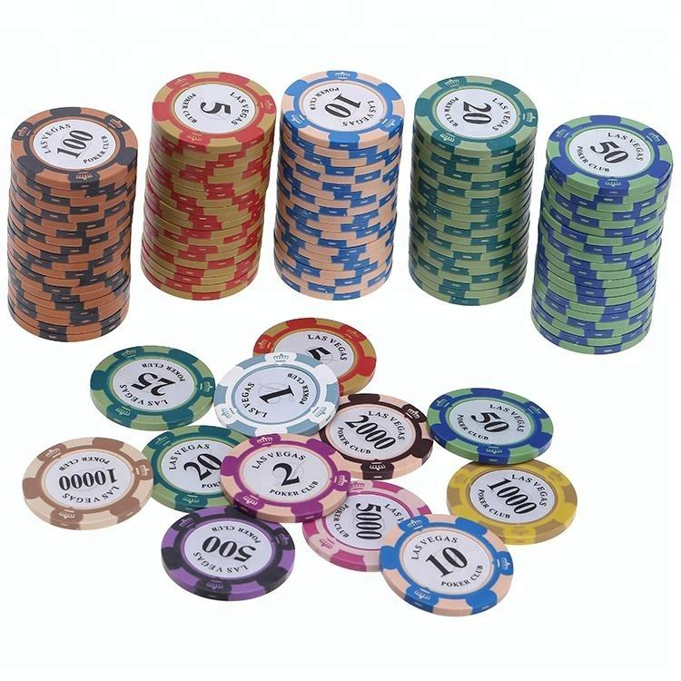 14g Two Tone Monte Carlo Poker Chips