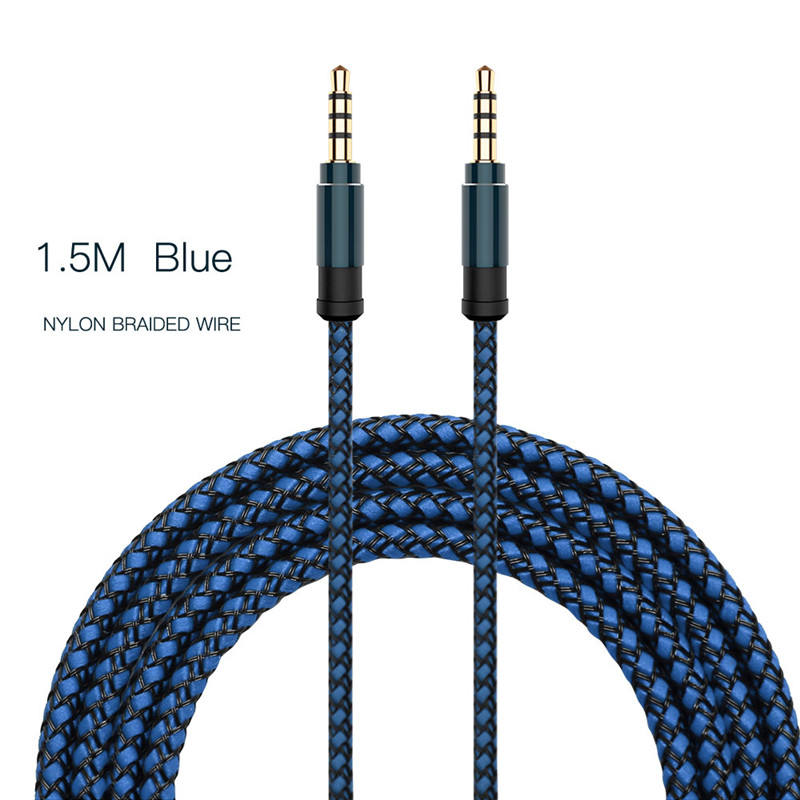 Jack 3.5 Kabel Audio 3.5 Mm Speaker Line AUX Kabel untuk I Phone 6 Samsung GALAXY S8 Mobil Headphone Xiaomi Redmi 4X Audio Jack