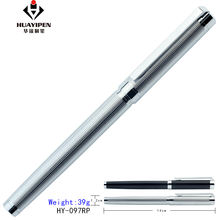 High quality luxury custom metal ball point roller pens signature Orb business creative personality gift