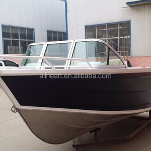 ALLHEART 4.5m center console boat 16ft Aluminum fishing boat
