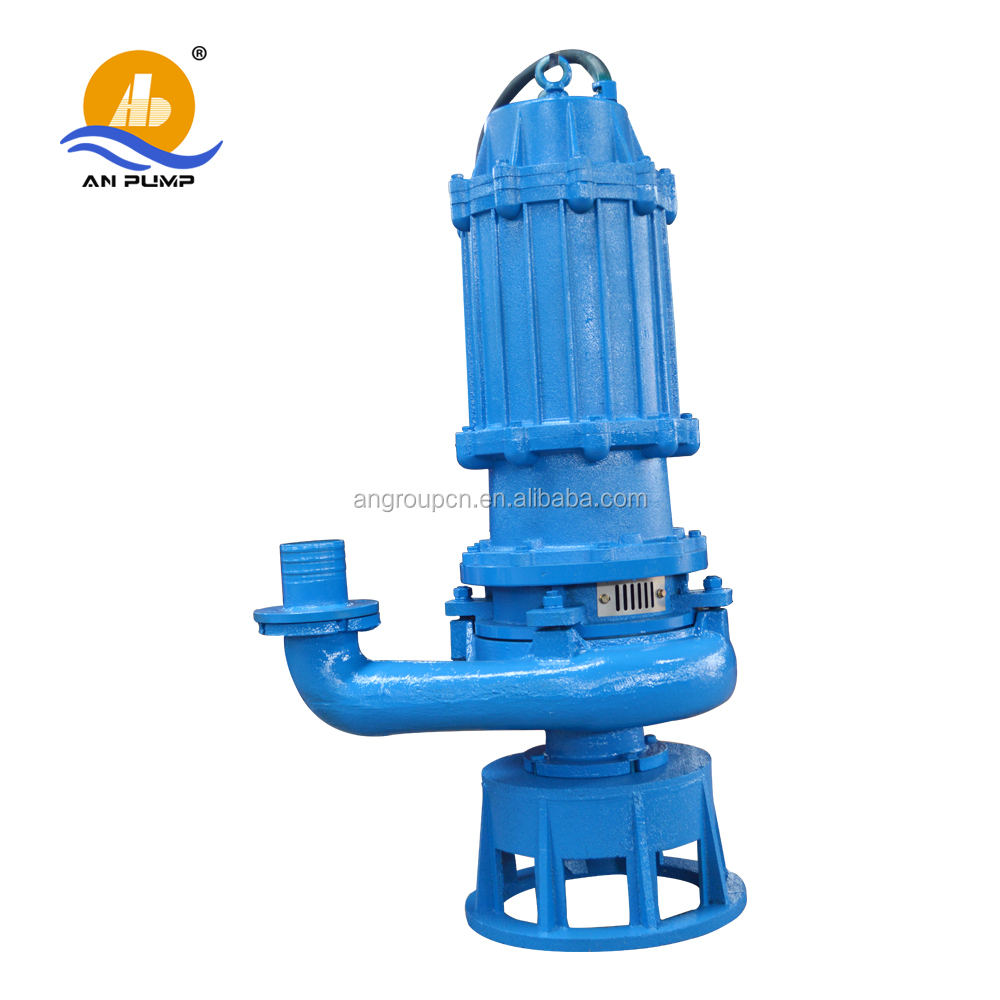 heavy duty centrifugal feeding abrasion resistant submersible slurry pump