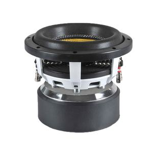 8inch popular car subwoofers 500W RMS with white Aluminum Basket subwoofer