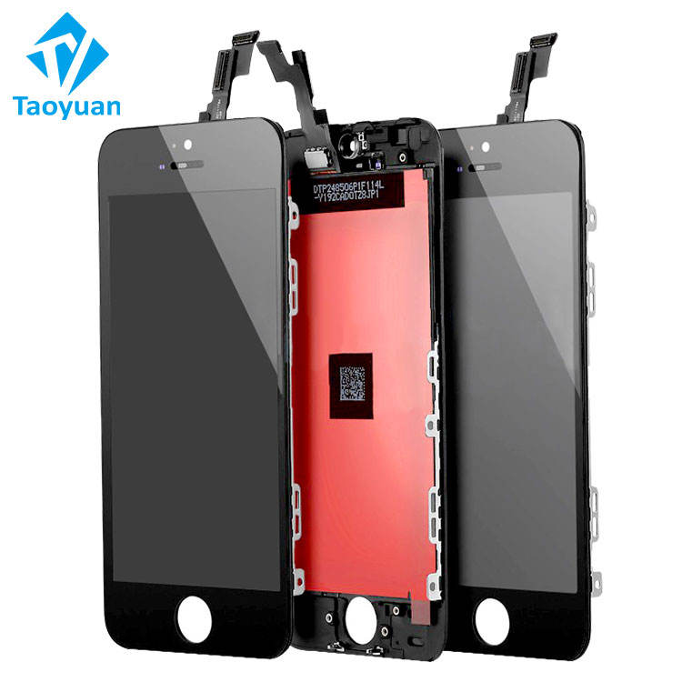 Taoyuan Oem Factory Outlet Lcd Screen Digitizer Vergadering Voor Apple Iphone 5 5G Kleine Onderdelen Voor Iphone 5 Lcd touch Panel