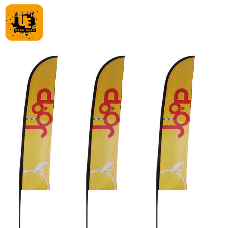 advertising flags/street banner/good quality standing flag poles