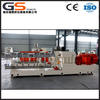 pp pe pa eva co-rotating twin screw extrusion raw material plastic granules pellet two stage extruder