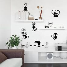 Wholesale fashionable custom design Home Toilet sticker decoration wall sticker