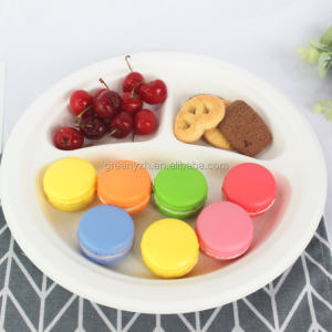 Compostable Biodegradable Sugarcane Paper dinnerware sets/Plate