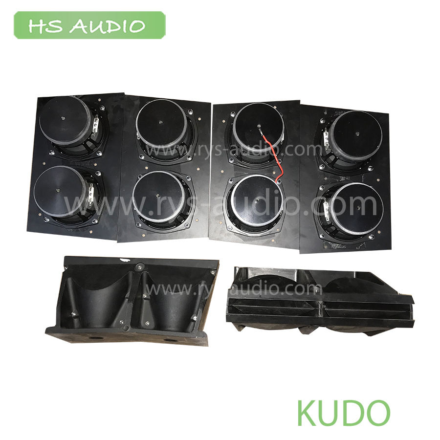 "Kudo Style Line Array Waveguide Horn 6"" MF units l made in HS AUDIO"