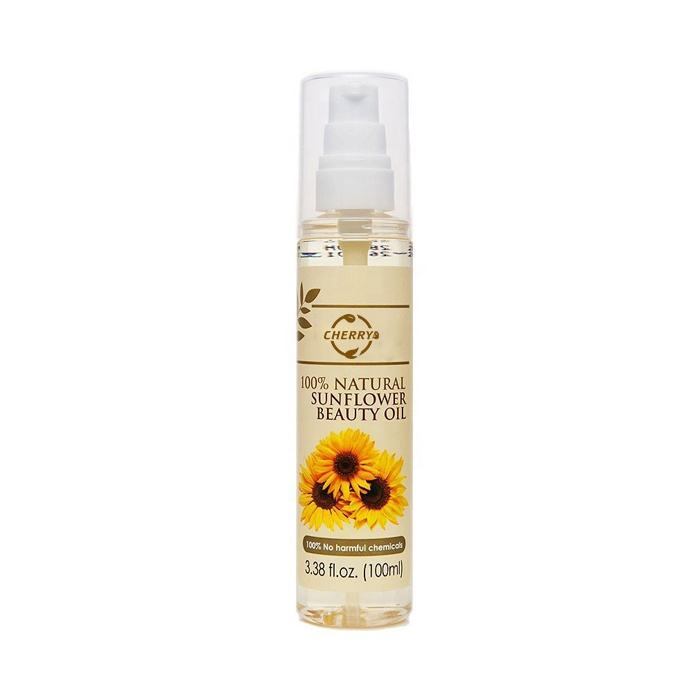 Guangzhou Cherry Cosmetic OEM Custom Best Selling New Product Beauty Skin Care Sun Flower Seeds Extract Nourishing Sunflower Oil