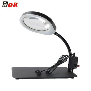 Hot-selling Factory Price Loupe desk-top electronic Magnifier with LED Light