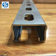 hot rolled perforated steel profile C channel steel