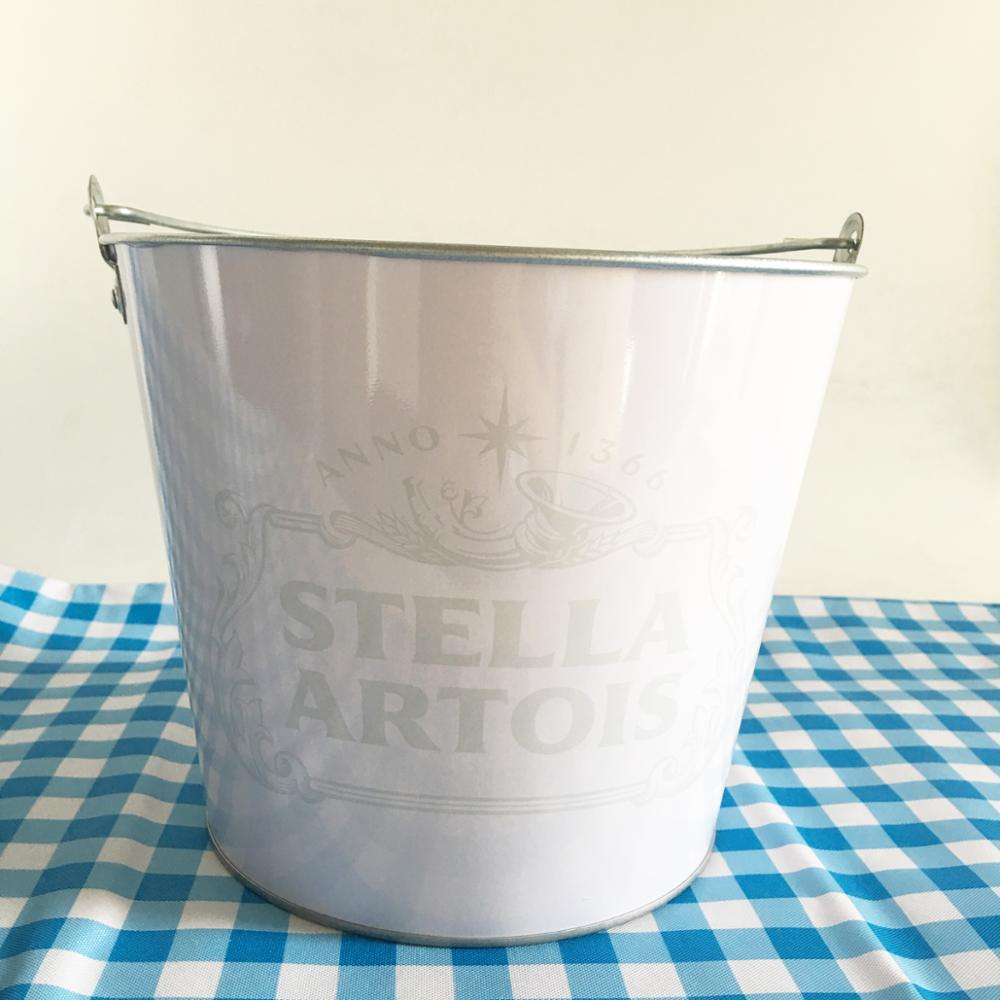 Stella fulling color printing beer Ice Bucket for bar