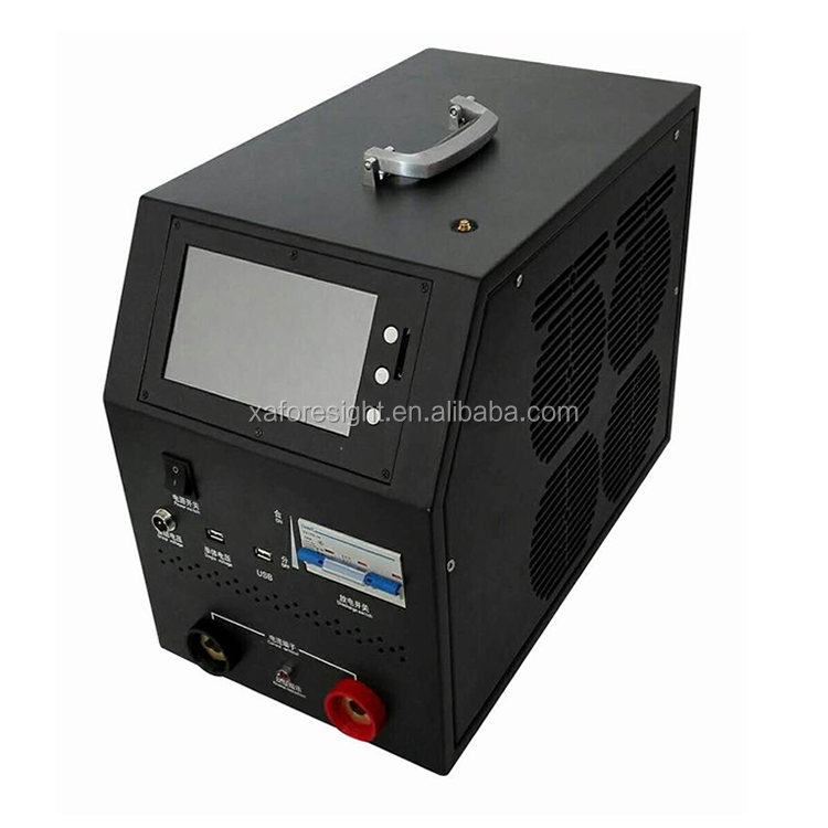 Pack Voltage 48VDC and constant power and constant current discharging DC LOAD TESTER and Battery capacity tester