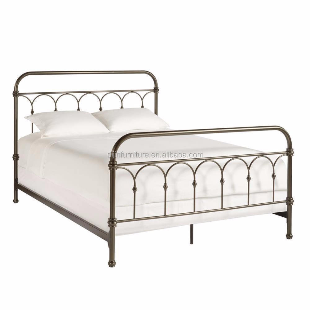 Vintage Style Metallo <span class=keywords><strong>Pannello</strong></span> Bed Decorativo Joint Getti Bronzo Scuro <span class=keywords><strong>Regina</strong></span> Letto