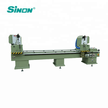 Double Head PVC Door Window Frame Making Machine for Cutting Saw