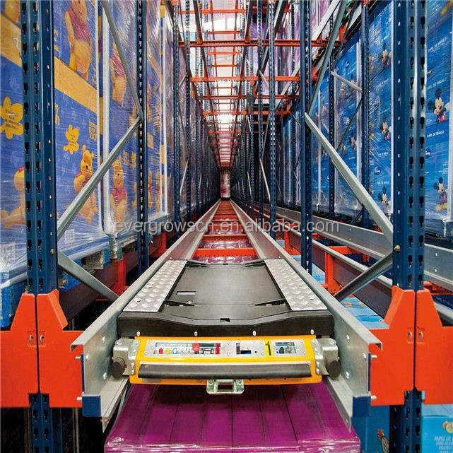 pallet rack dealers,Evergrows cold storage Radio shuttle racking, storage racking