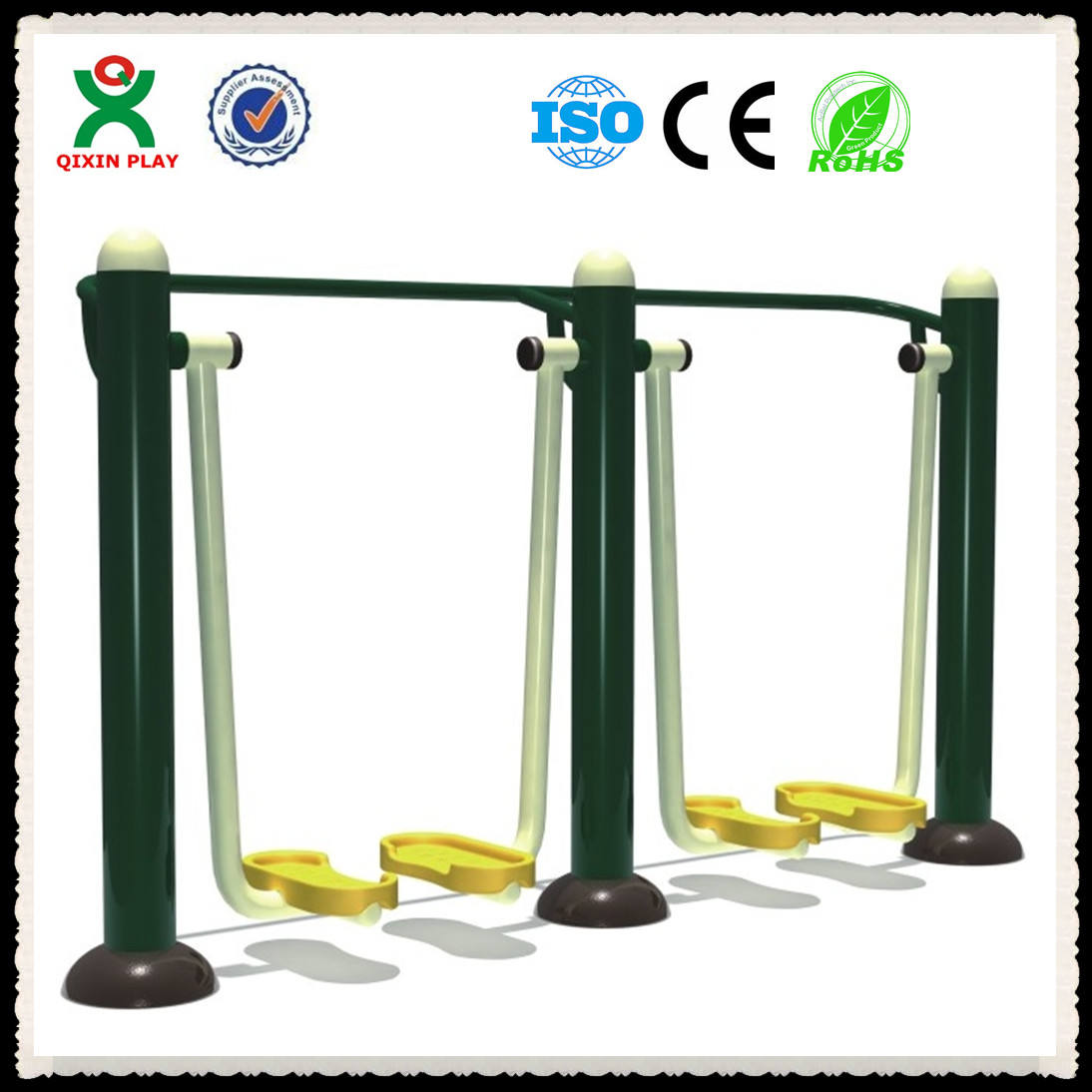 air walkers/CE outdoor fitness/outdoor Sky Walker(double)/china outdoor fitness double Air Walker/walking machine QX-091E
