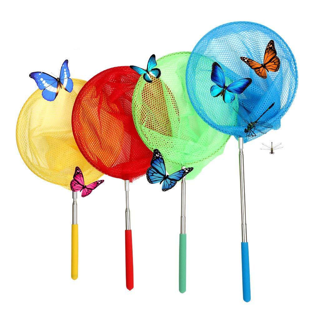Erweiterbar Kinder Net Teleskop Griff Schmetterling Insekt Fisch Spielzeug Mode