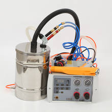 Intelligent manual spray painting machine with hopper for test and small batch