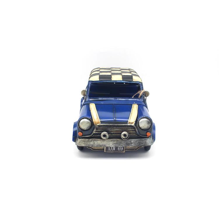 Barato de alta calidad pintura de mano de metal grande fundición 1:10 modelo de coche