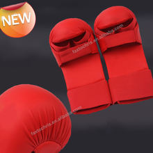Custom WKF approved karate training mitts/gloves