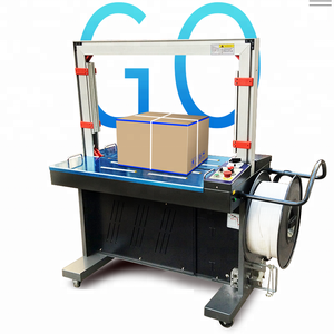 Low Price Fully Automatic Plastic PP PET Belt Strap Packing Bundling Strapping Machine Manual