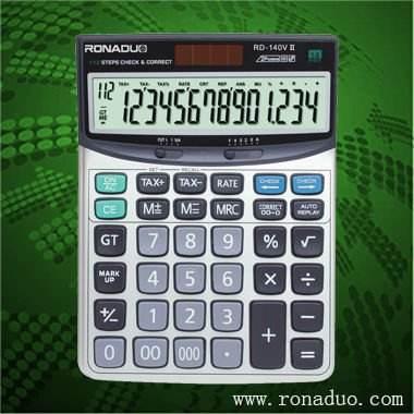 Calculadora casio modelo mismo rd-140vii 14- dígitos calculadora de escritorio! Calculadora electrónica