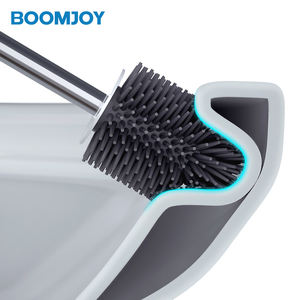 Boomjoy Plastik Toilet Cleaning Brush Set B5