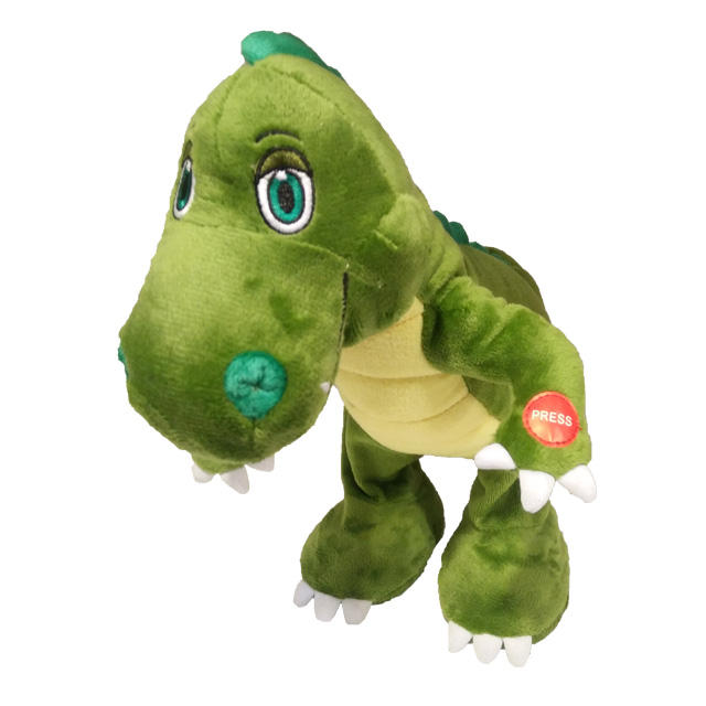 2019 New Animated Movements And Sounds Dinosaur Electronic Plush Toys For Children