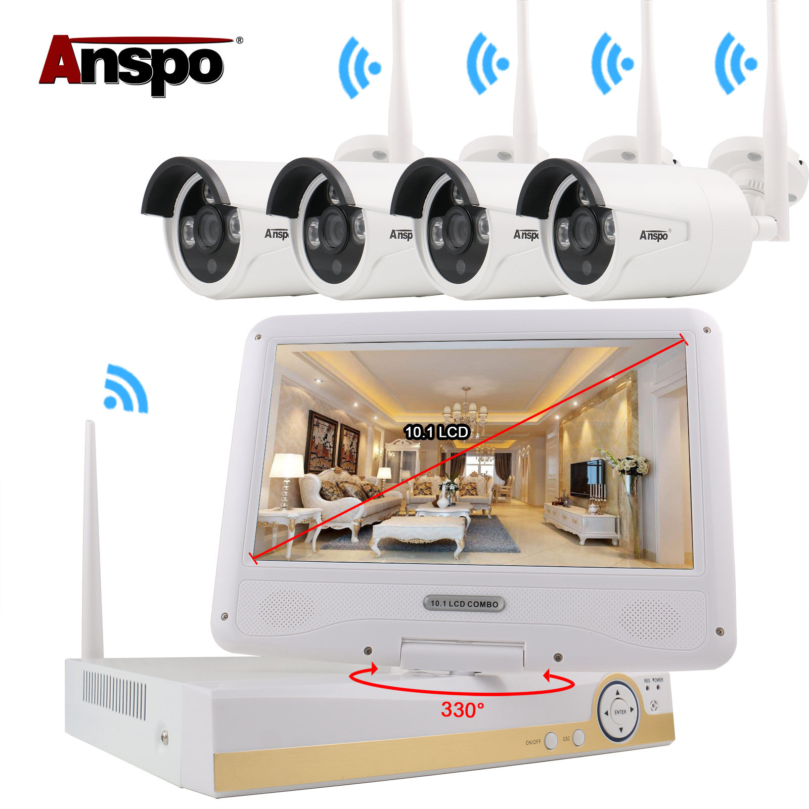HDiDVR cctv camera price list Security system Wireless 8 Channel surveillance Cameras Systems 960P Ir Bullet Cameras