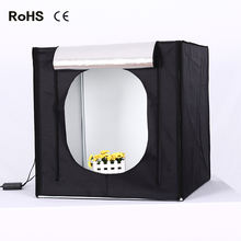 Hot selling Cube LED Portable Photo Studio Light Box LED photography Tent Kit LED Photography Light Box